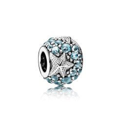 Океанічна зірка- OCEANIC STARFISH, FROSTY MINT CZ No.791905CZF