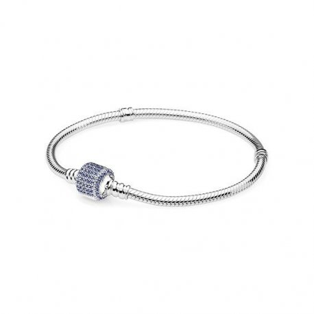 Браслет PANDORA Signature Royal-Blue