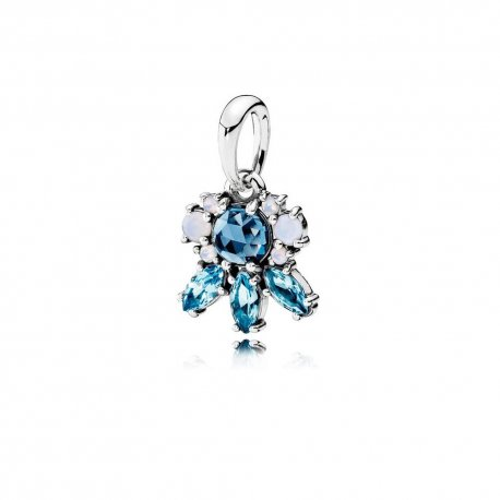 Кулон Patterns of Frost, Multi-Colored Crystal Item #390391NMBMX
