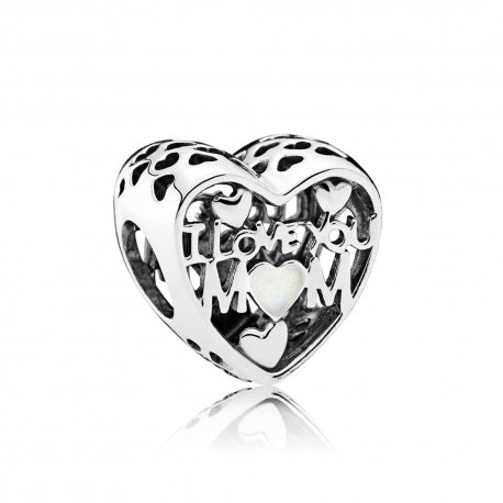 Бусина Love for Mother, Silver Enamel 792067EN23