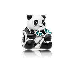 Шарм Сладкая Панда- Sweet Panda Charm, Mixed-Enamel Item #796256ENMX