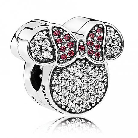 Шарм Shimmering Minnie clips